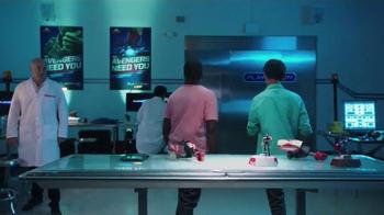 Playmation Marvel Avengers Repulsor Starter Pack TV Spot, 'Disney Channel: Avengers Lab' - Thumbnail 7