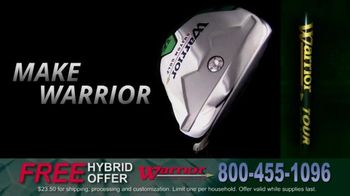 Warrior Custom Golf Tomahawk Hybrid Iron TV Spot, 'No Catch'