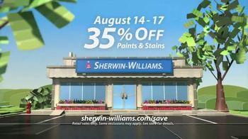 Sherwin-Williams Love for Color Anniversary Sale TV Spot, 'Flowers' - Thumbnail 6