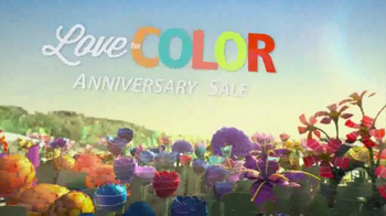 Sherwin-Williams Love for Color Anniversary Sale TV Spot, 'Flowers' - Thumbnail 3