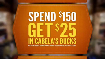 Cabela's Fall Great Outdoor Days TV Spot, 'Let the Games Begin' - Thumbnail 5
