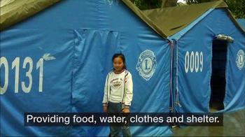 Lions Clubs International TV Spot, 'Disaster Relief' - Thumbnail 4