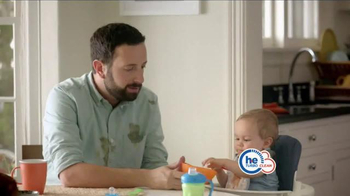 Tide HE Turbo Clean TV Spot, 'Baby Food'