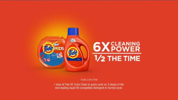 Tide HE Turbo Clean TV Spot, 'Baby Food' - Thumbnail 9