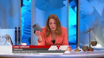 XFINITY Latino TV Spot, 'Caso Cerrado' [Spanish] - Thumbnail 3