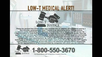 Low-T Justice TV Spot, 'Testosterone' - Thumbnail 8