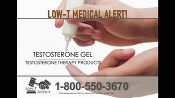 Low-T Justice TV Spot, 'Testosterone' - Thumbnail 4