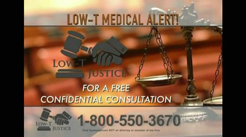 Low-T Justice TV Spot, 'Testosterone' - Thumbnail 7