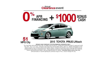 Toyota Annual Clearance Event TV Spot, 'Gone Rogue' - Thumbnail 5
