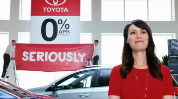 Toyota Annual Clearance Event TV Spot, 'Seriously' - 61 commercial airings