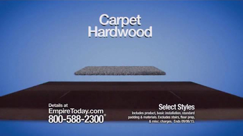 Empire Today Half Price Sale TV Spot, 'Flooring Made Easy' - Thumbnail 2