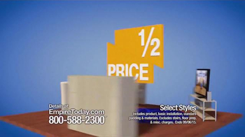 Empire Today Half Price Sale TV Spot, 'Flooring Made Easy' - Thumbnail 3