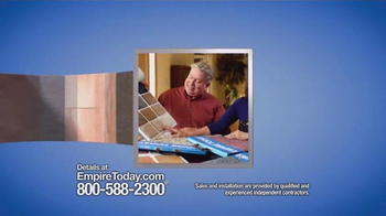 Empire Today Half Price Sale TV Spot, 'Flooring Made Easy' - Thumbnail 4