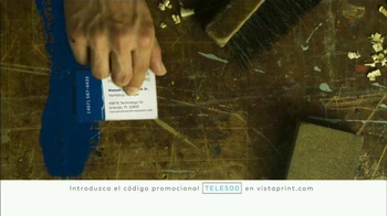 Vistaprint TV Spot, 'Viva la creatividad' [Spanish]