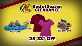 Bass Pro Shops End of Season Clearance TV Spot, 'Huge Savings' - Thumbnail 7