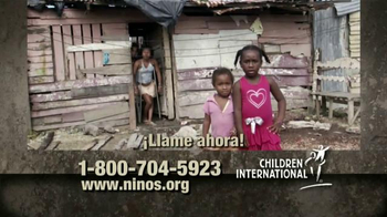 Children International TV Spot, 'Apadrina un niño' [Spanish]