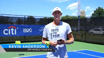 Tennis Central App TV Spot, 'Your Game' Feat. Denis Kudla, Kevin Anderson - 3 commercial airings
