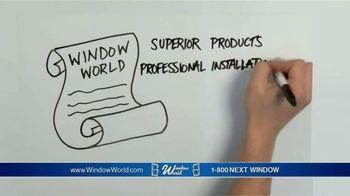 Window World TV Spot, 'Doing Things Right'