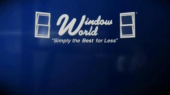 Window World TV Spot, 'Doing Things Right' - Thumbnail 1