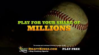 DraftKings Fantasy Baseball TV Spot, 'Glove' - Thumbnail 6