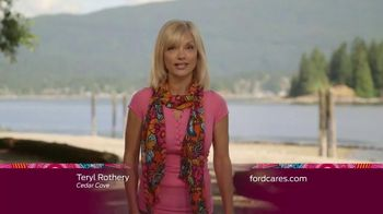 Ford Warriors in Pink TV Spot, 'Cedar Cove: Scarf' Featuring Teryl Rothery