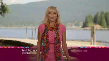 Ford Warriors in Pink TV Spot, 'Cedar Cove: Scarf' Featuring Teryl Rothery - Thumbnail 1