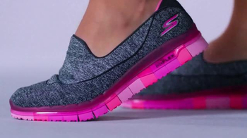 SKECHERS GO FLEX Walk TV Spot, 'Moves With You' - 2608 commercial airings