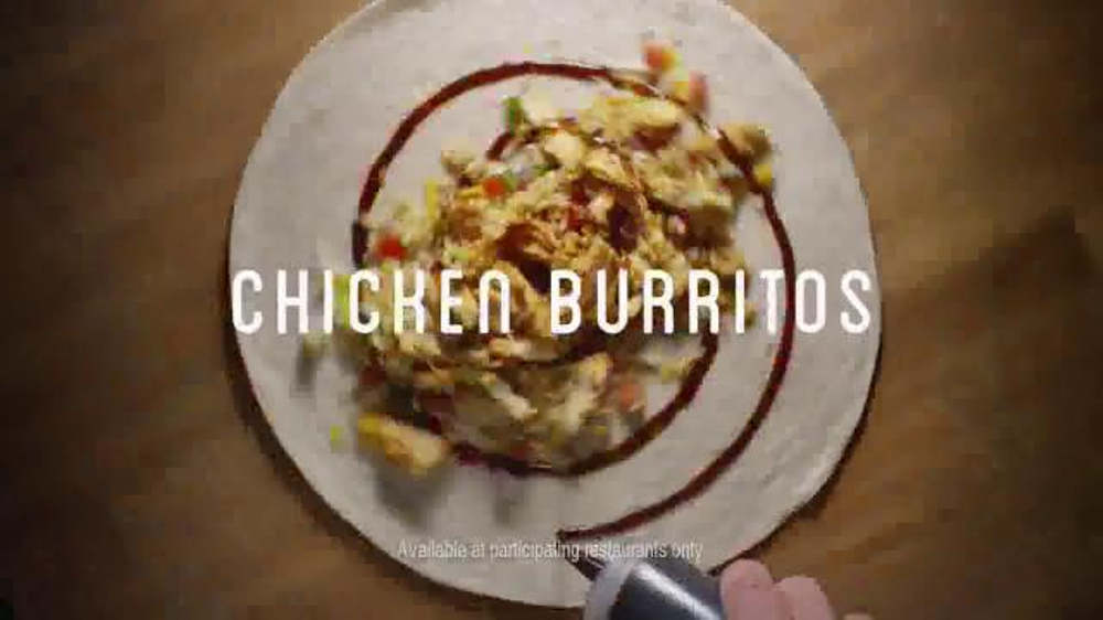 Chili's Smoked Chicken Burritos TV Commercial, 'Filled and Fresh'