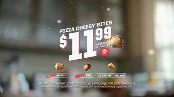 Pizza Hut Ranch Crust Cheesy Bites TV Spot, 'Nuevo sabores' [Spanish] - Thumbnail 9