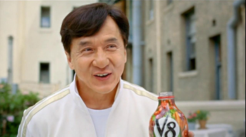 V8 Juice Original Vegetable Juice TV Spot Featuring Jackie Chan - Thumbnail 6