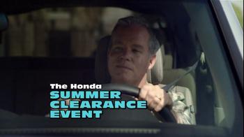 2012 Honda Pilot LX TV Spot, 'Summer Clearance Event' Song by One Republic - Thumbnail 3
