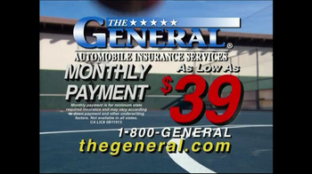 The General TV Spot, 'Slam Dunk' - 1286 commercial airings