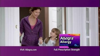 Allegra Allergy TV Spot - Thumbnail 9