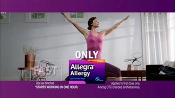 Allegra Allergy TV Spot - Thumbnail 5
