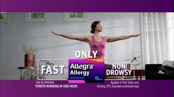 Allegra Allergy TV Spot - Thumbnail 6