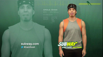 Subway TV Spot For Turkey And Avocado With Famous Athletes - Thumbnail 7