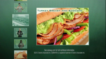 Subway TV Spot For Turkey And Avocado With Famous Athletes