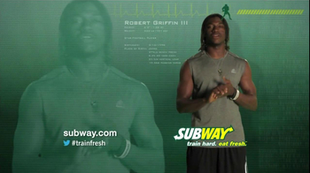 Subway TV Spot For Turkey And Avocado With Famous Athletes - Thumbnail 6