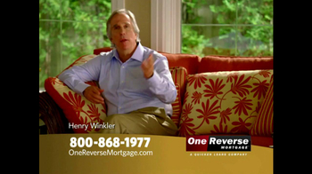 One Reverse Mortgage TV Spot, 'A Better Retirement' Featuring Henry Winkler - Thumbnail 1