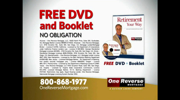 One Reverse Mortgage TV Spot, 'A Better Retirement' Featuring Henry Winkler - Thumbnail 3