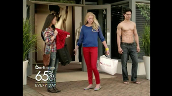 Burlington Coat Factory TV Spot Male Model - Thumbnail 4