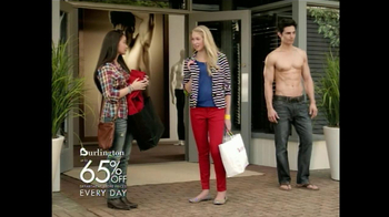 Burlington Coat Factory TV Spot Male Model - Thumbnail 6
