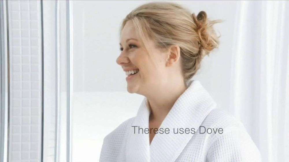 Dove Tv Commercial For Dove Versus Ordinary Soap With