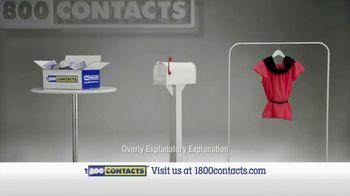 1-800 Contacts TV Spot, 'New Shirt'