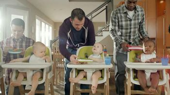 Huggies Natural Care TV Spot Spaghetti Night with Dad - 4 commercial airings