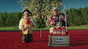 Ocean Spray Cran-Cherry TV Spot Featuring George Washington - 2014 commercial airings