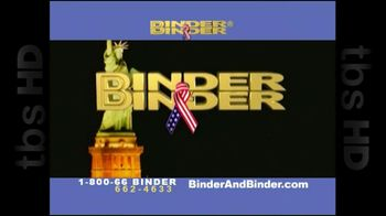 Binder and Binder TV Spot For Leave The Worrying To Us