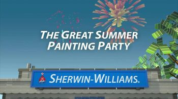 Sherwin-Williams Great Summer Painting Party TV Spot, 'Shop Now' - Thumbnail 2