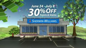 Sherwin-Williams Great Summer Painting Party TV Spot, 'Shop Now' - Thumbnail 3