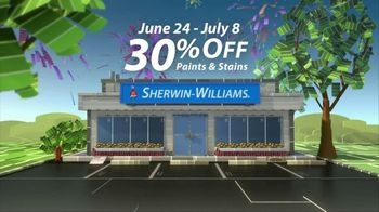 Sherwin-Williams Great Summer Painting Party TV Spot, 'Shop Now' - Thumbnail 4